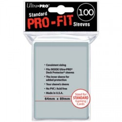 Protèges cartes Standard Ultra Pro - PRO-FIT
