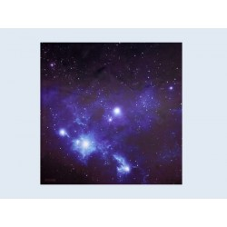 X Wing - War Game Mat - 91cm 91cm - Blue Space