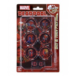 Deadpool and X-Force Dice & Token Pack: Marvel HeroClix