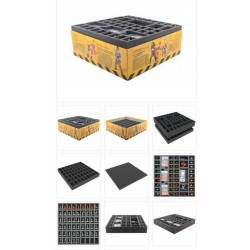 Bundle Mousses de rangement - Zombicide Season 2 Prison Outbreak