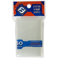 "Protèges cartes ""Mini European Board Game Sleeves"" FFG - Clear"