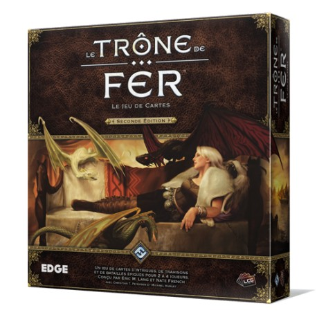 Le Trône de Fer : Le Jeu de Carte, Seconde Edition - Ludiworld