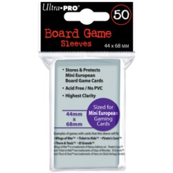"ULTRA PRO ""BOARD GAME SLEEVES"" 44X68MM"