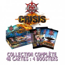Star Realms : Crisis Collection Complète des 4 Boosters