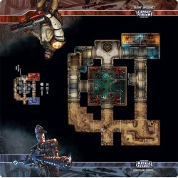 Assaut sur l'empire - Tapis de jeu - Coruscant Landfill Skirmish Map - Playmat