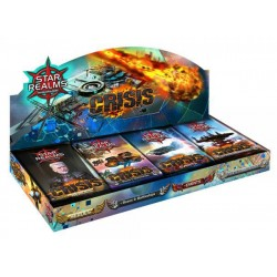 Star Realms VF: Crisis - Collection Complète des 4 Boosters