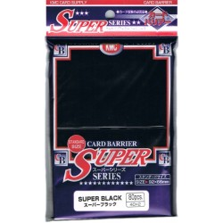 Protèges cartes KMC Super Series - Super Black