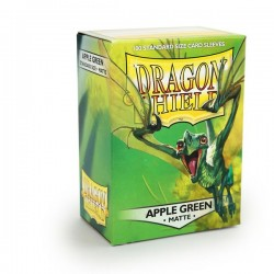 Protèges cartes Dragon Shield - Matte Apple Green