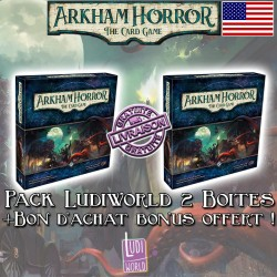 Pack Ludiworld deux core set Arkham Horror: The Card Game