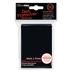 Protèges cartes Standard Ultra Pro - Black