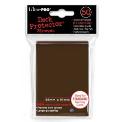 Protèges cartes Standard Ultra Pro - Brown