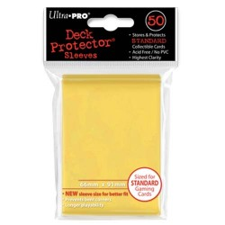 Protèges cartes Standard Ultra Pro - Yellow