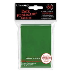 Protèges cartes Standard Ultra Pro - Green