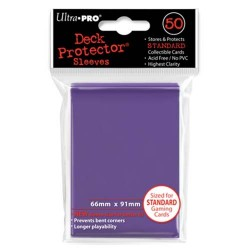 Protèges cartes Standard Ultra Pro - Purple