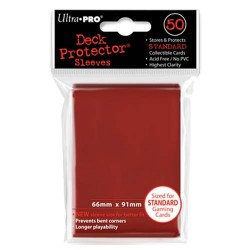 Protèges cartes Standard Ultra Pro - Red