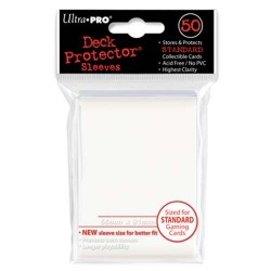 Protèges cartes Standard Ultra Pro - White