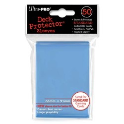 Protèges cartes Standard Ultra Pro - Light Blue