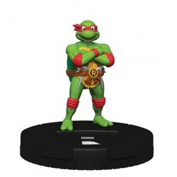 "HeroClix TMNT ""Heroes In A Half Shell"" Set 2 N01 Raphael - Common"