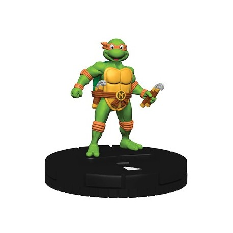 "HeroClix TMNT ""Heroes In A Half Shell"" Set 2 N02 Michelangelo - Common"