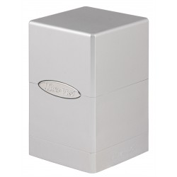 Satin Tower Box Ultra Pro - Metallic Silver