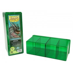 Four Compartment Box Dragon Shield - Green