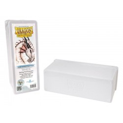 Four Compartment Box Dragon Shield - White