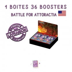 Boite De 36 Boosters Force of Will A4 - Battle for Attoractia (EN)
