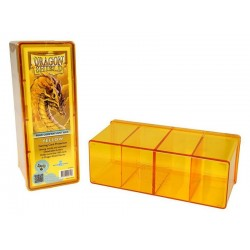 Four Compartment Box Dragon Shield - Yellow