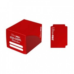 Pro Dual Small Deck Box Ultra Pro - Red
