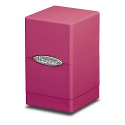 Satin Tower Box Ultra Pro - Bright Pink