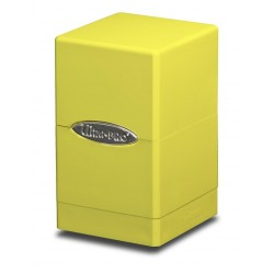 Satin Tower Box Ultra Pro - Bright Yellow