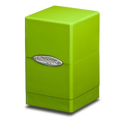 Satin Tower Box Ultra Pro - Lime Green