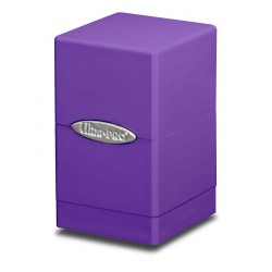 Satin Tower Box Ultra Pro - Purple