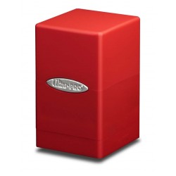 Satin Tower Box Ultra Pro - Red