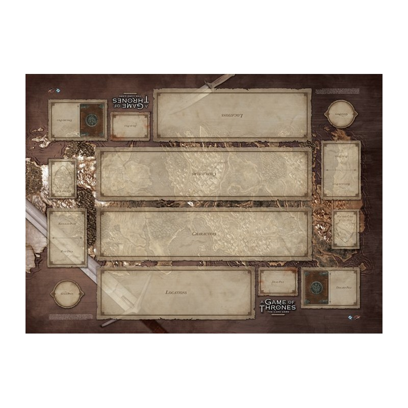 Westeros Two Player Playmat