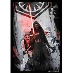 50 Protèges Cartes Star Wars First Order