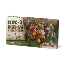 Notorious Plagued Characters N°2 - Zombicide : Black Plague