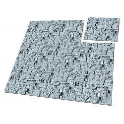 Tapis de jeu Starship 9 Tuiles 30 x 30 cm - Ultimate Guard