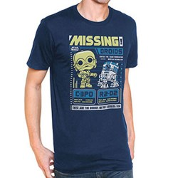 Funko POP Tees - Star Wars: C-3PO & R2-D2 (XL)