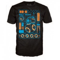 Funko POP Tees - Star Wars: BB-8 Blueprint (XL)