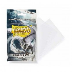100 Protèges Cartes Perfect Fit (Slim) Clear