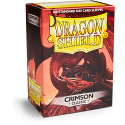 Protèges cartes Dragon Shield - Crimson