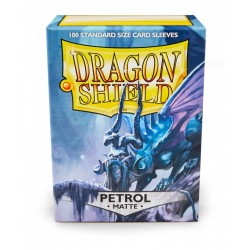 Protèges cartes Dragon Shield - MATTE Bleu Petrol