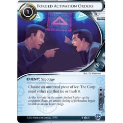 Forged Activation Orders