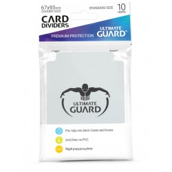Séparateurs de Cartes Ultimate Guard Transparent