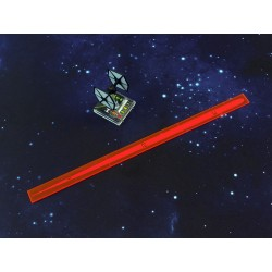 X Wing - Space Fighter Range Ruler Pink