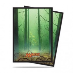 80 Protège-Cartes Magic The Gathering - Mana 5 Forest