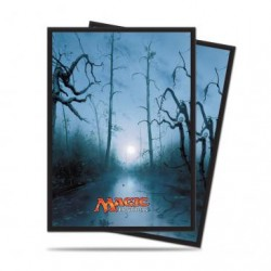 80 Protège-Cartes Magic The Gathering - Mana 5 Swamp