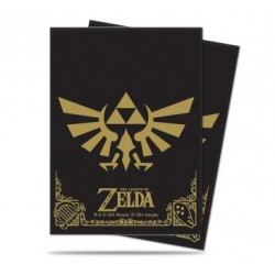 Protèges cartes Zelda Ultra Pro - The Legend of Zelda: Black & Gold