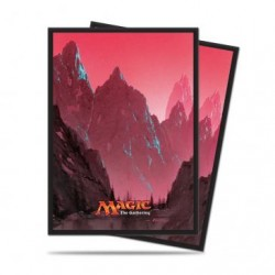 80 Protège-Cartes Magic The Gathering - Mana 5 Mountain